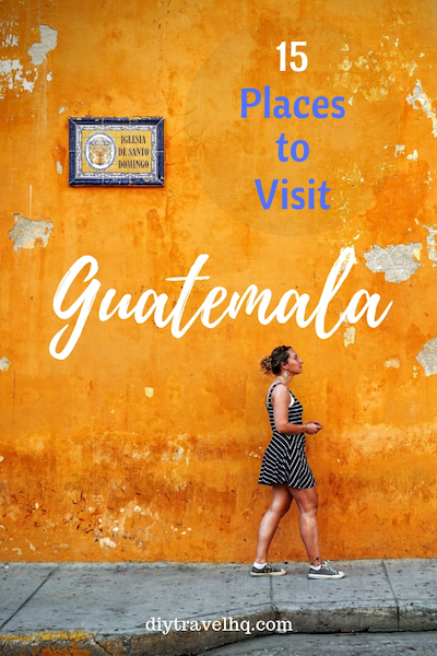 There are many beautiful places in Guatemala - see our Guatemala pictures and find out the top 15 Guatemala destinations #guatemala #centralamerica #diytravel