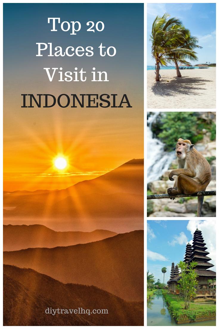 Indonesia Volcano, Beach, Monkey & Temple