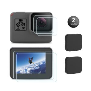 Top GoPro Accessories Touchscreen and Lens Protectors