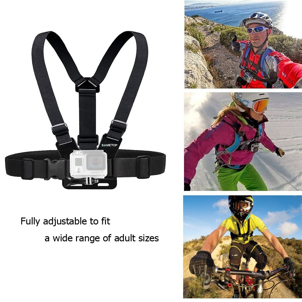 Top GoPro Accessories for Cliff Jumping Chest Mount