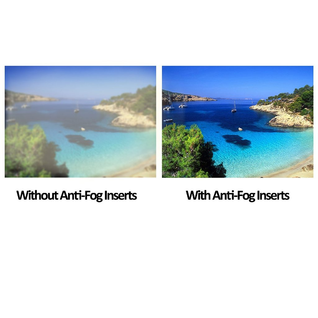 Top GoPro Accessories for Diving Anti-fog Inserts