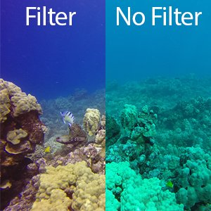 Top GoPro Accessories for Diving Red Filter