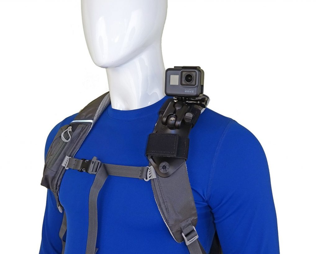 Top GoPro Accessories for Hiking Backpack Shoulder Strap Mount