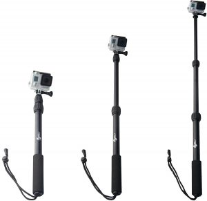 Top GoPro Accessories for Travel Telescopic Pole