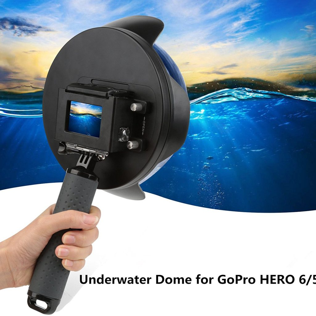 Top GoPro Accessories for Travel Underwater Dome