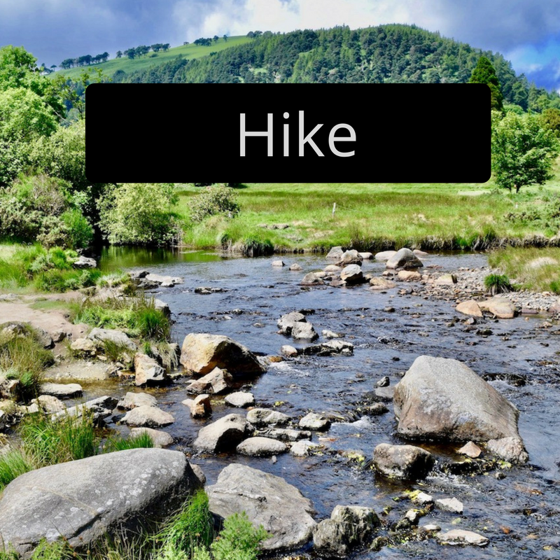 Hike Glendalough Ireland