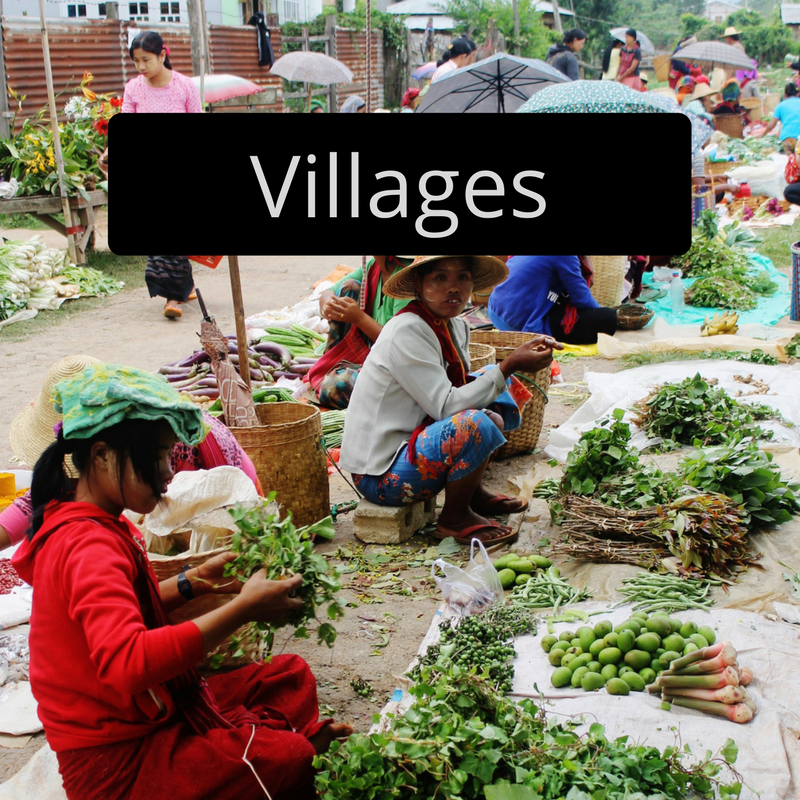 Market Kalaw Myanmar