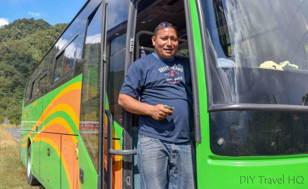 David to Alimente Bus for Bocas del Toro