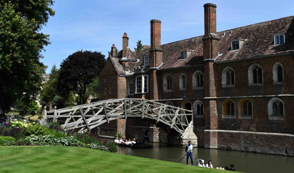 Cambridge Queens College Mathmatical Bridge