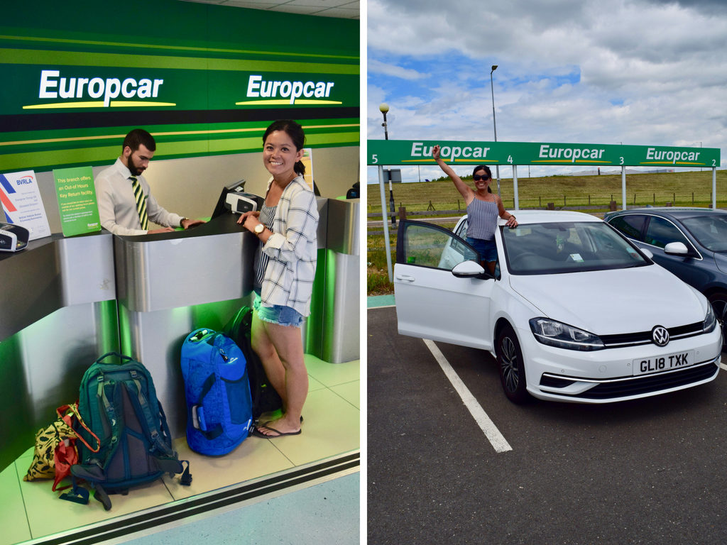 Europcar at Stansted Airport
