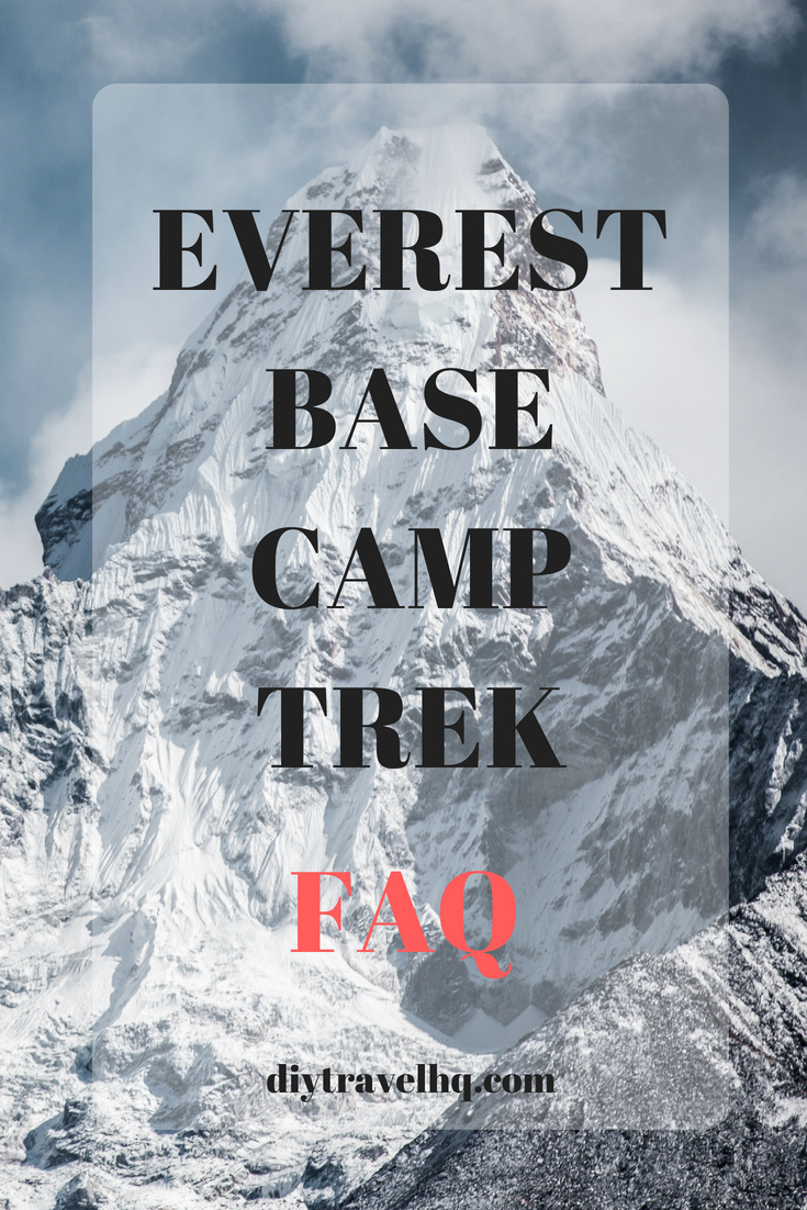 Thinking about doing the Everest Base Camp trek? Find out everything you need to know to prepare you for the adventure of a lifetime #everest #everestbasecamp #nepaltravel