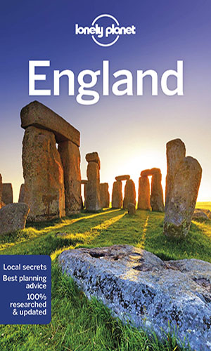 Lonely Planet England Guide Book 2019 Edition