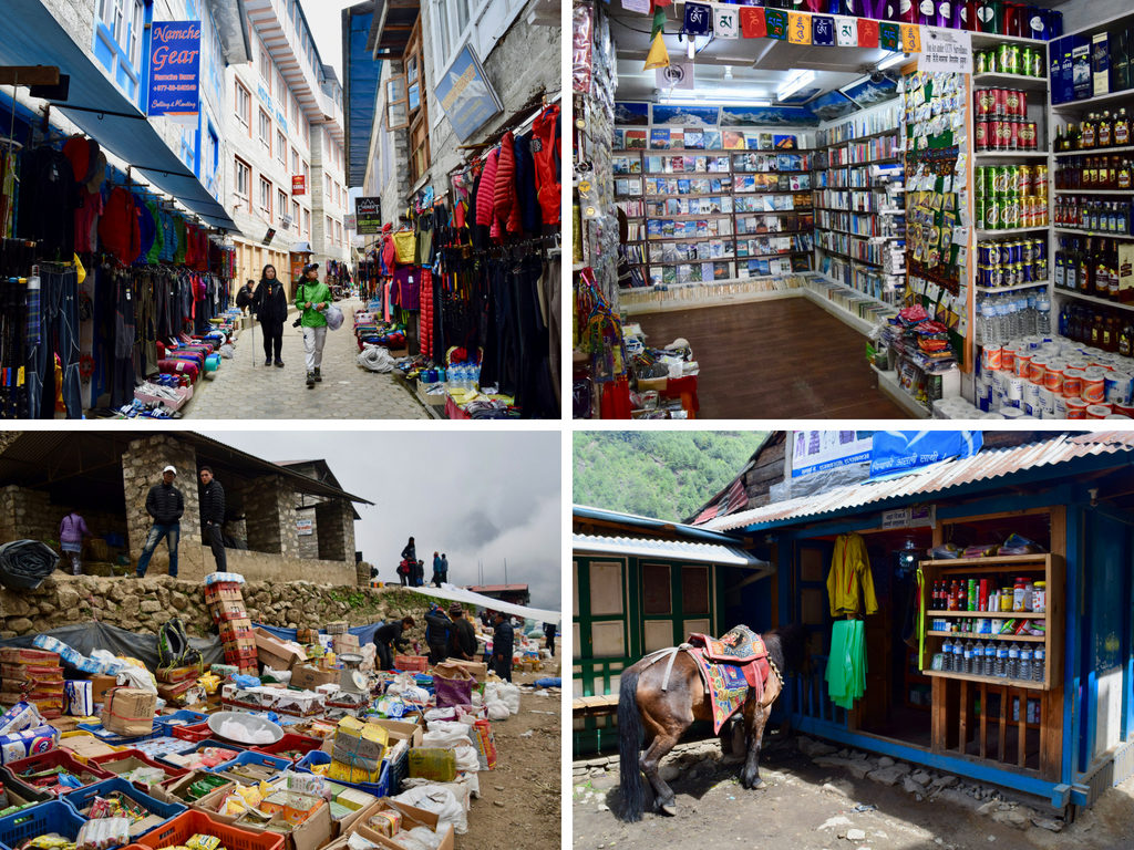 Shopping Namche Bazaar