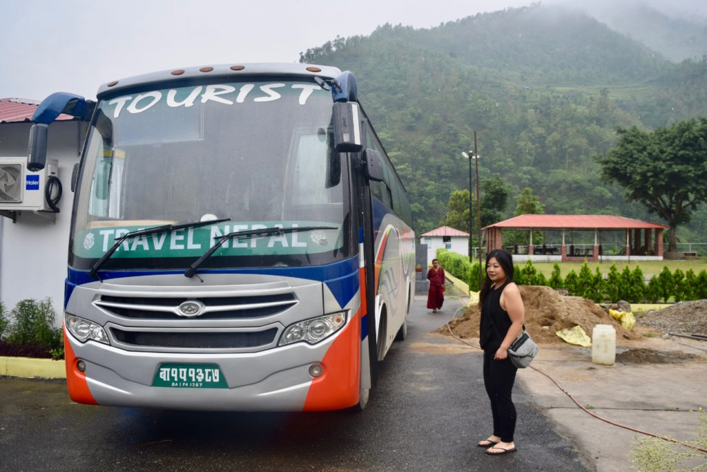 Pokhara tourist bus