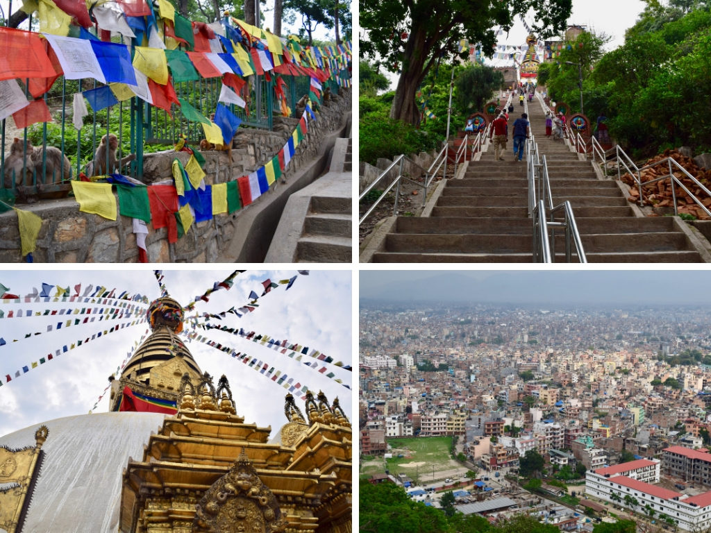 4 photos of Monkey Temple Kathmandu