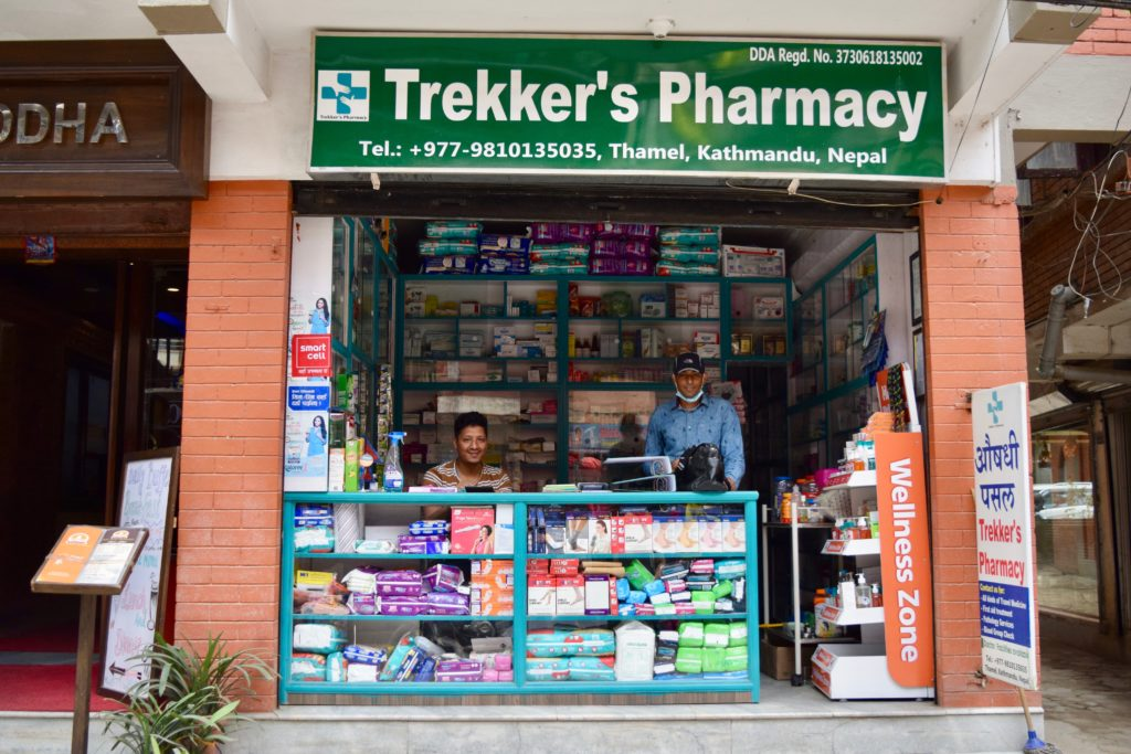 Trekker's Pharmacy in Thamel
