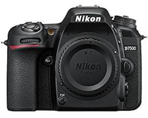 Nikon D7500 - Blogging cameras