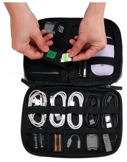 Travel Electronics Organizer