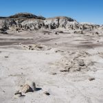Bisti Badlands Hiking Map with GPS Coordinates
