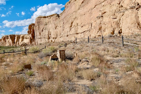 Chaco Culture cemetery