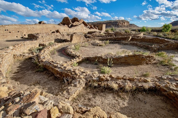 Ruins in New Mexico