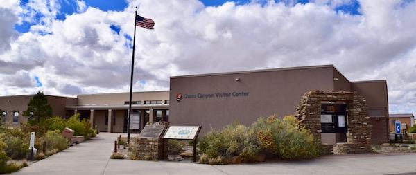 Visitor Centre at Chaco Canyon