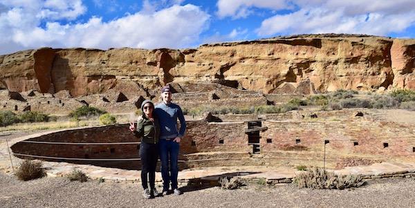 Chaco Canyon camping