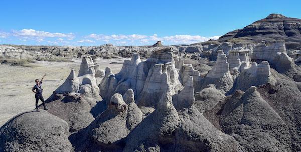 Bisti Badlands NM