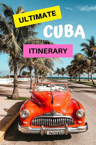 There are many beautiful places in Cuba - whether you have 1 week or 1 month we have 5 different Cuba itineraries to help you plan your Cuba trip #cuba #cubatravel #centralamerica #diytravel