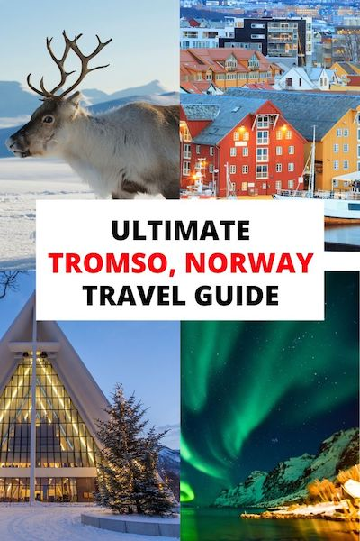 From food to the Northern lights there are so many things to do in Tromso, Norway. Check out our Tromso travel guide and discover Tromso in winter &  summer #tromso #norway #norwaytravel