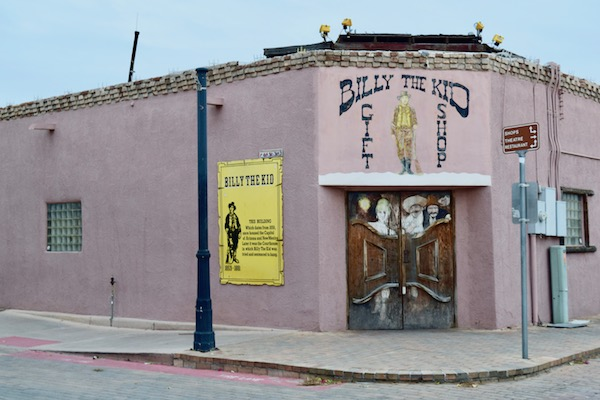 Billy the Kid gift shop in Mesilla