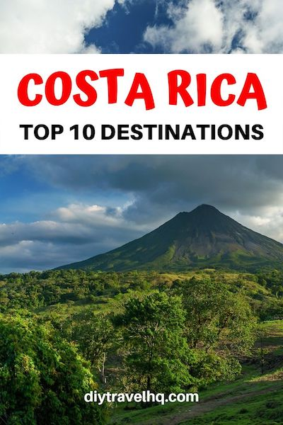 You'll find many things to do in Costa Rica and plenty of Costa Rica travel tips in our 1 month Costa Rica itinerary. Find out which Costa Rica destinations make the cut! #costarica #costaricatravel #centralamerica #diytravel