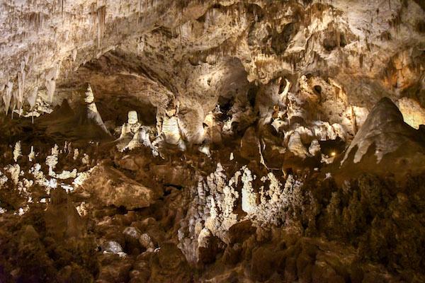 Carlsbad Caverns panorama
