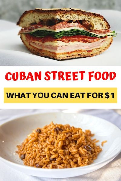 Traveling to Cuba? Check out our post on Cuban street food and find out the  15 best Cuban food you can eat for under $1 a day! #cuba #cubafood #streetfood #havanafood #havanatravel #cubatravel #diytravel