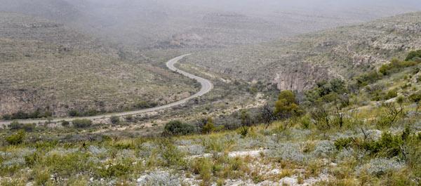 Road to Carlsbad Canyon