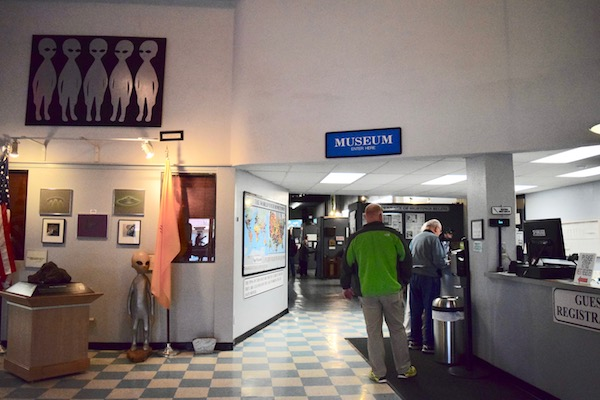 Inside the Roswell UFO museum