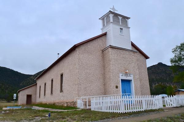 Church in Lincoln New Mexico