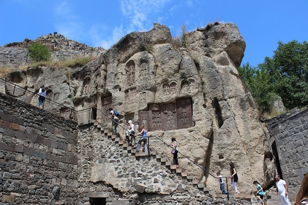 Jhamatun at Geghard Monastery