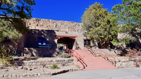 Visitor Center at Puye Cliff Dwellings