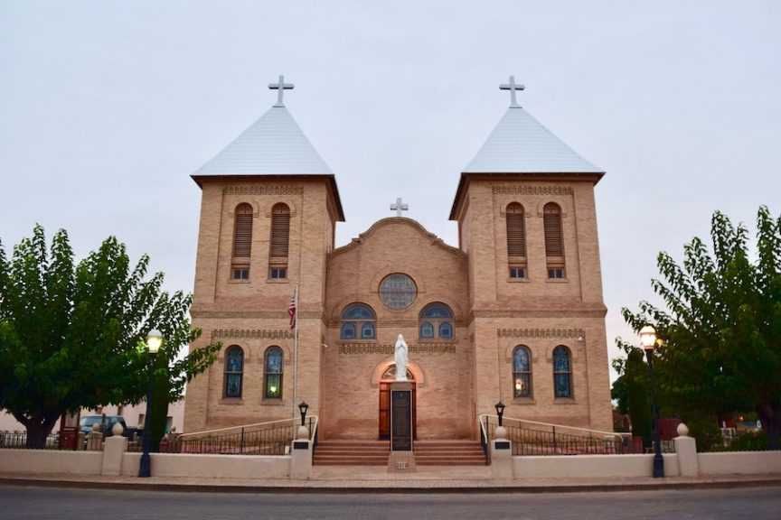 Mesilla church in New Mexico