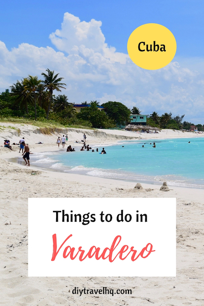 Varadero beach is hands down the best beach in Cuba but there are many things to do in Varadero. Check out our list of the best Varadero destinations and Varadero travel tips #varadero #cuba #cubatravel #diytravel
