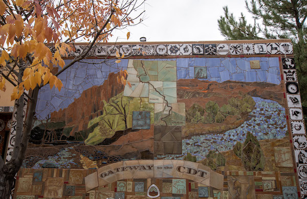 Silver City Visitor Center Mural