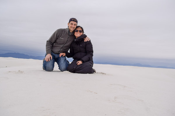 Couple at White Sands