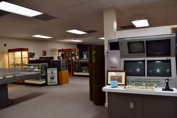 White Sands Missile Range museum exhibits