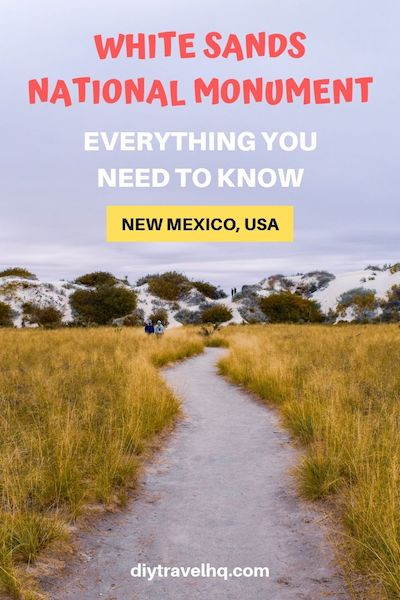 There are so many things to do in White Sands New Mexico. Check out our ultimate guide for info on White Sands sledding, camping, photography, visitor info and so much more #whitesands #newmexico #newmexicotravel #diytravel