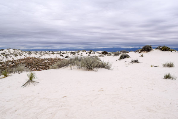 White Sands National Monument landscape