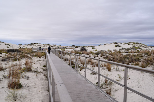 Boardwalk at White Sands NM