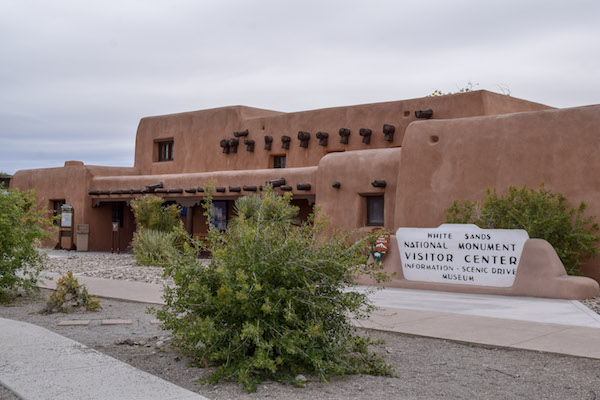 Visitor Center at White Sands National Monument