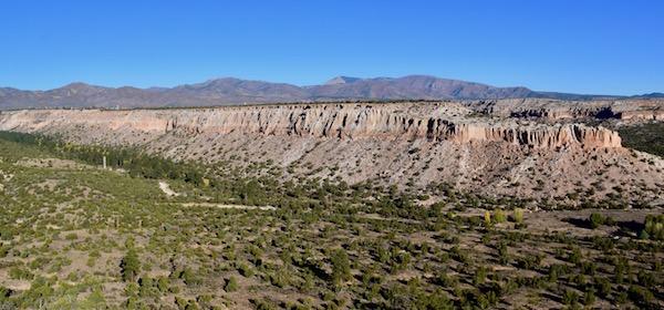 Landscape view from Tsankawi