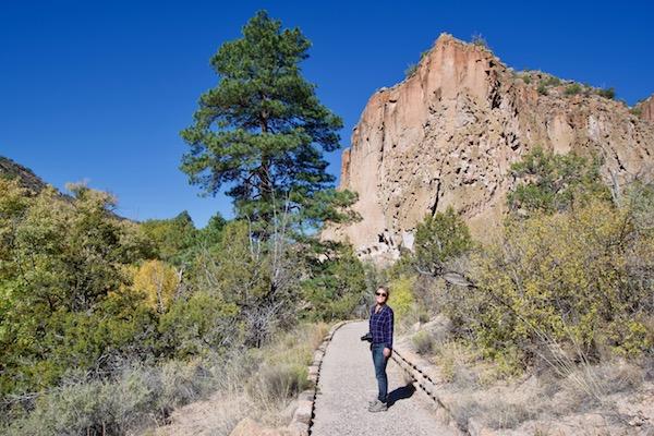 Bandelier National Monument Main Loop Trailhead